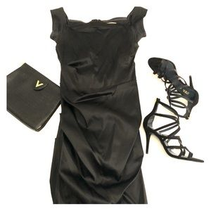 Dresses & Skirts - Beautiful black satin dress